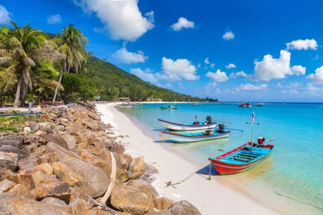 Koh Pha Ngan Islands in Thailand