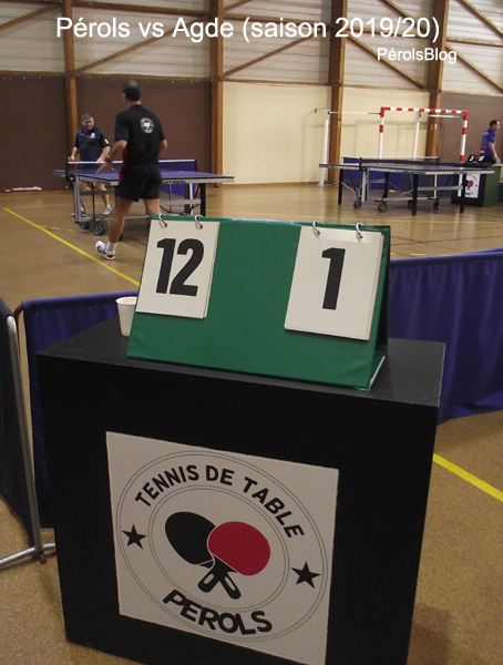 Ping-Pong Pérols vs Agde TT