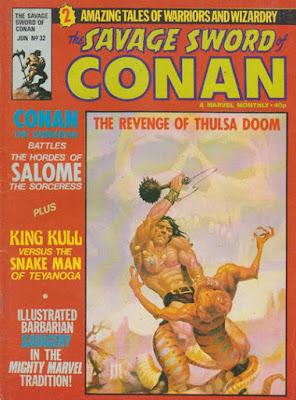 Savage Sword of Conan #32