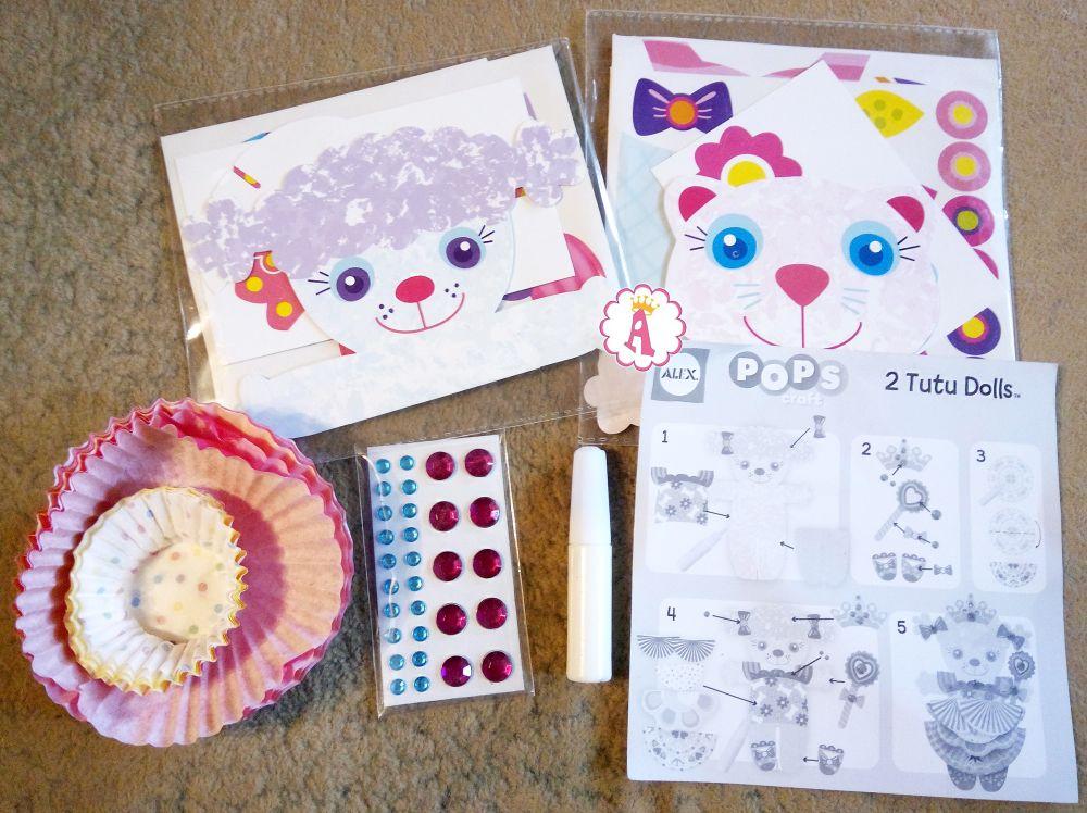 Бумажные куклы с одеждой кошка и собака Alex Pops Craft