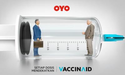OYO Indonesia Luncurkan VaccinAid