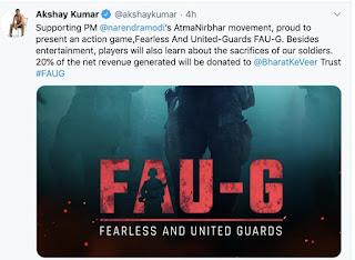 FOU-G App Akshay Kumar Launch Date