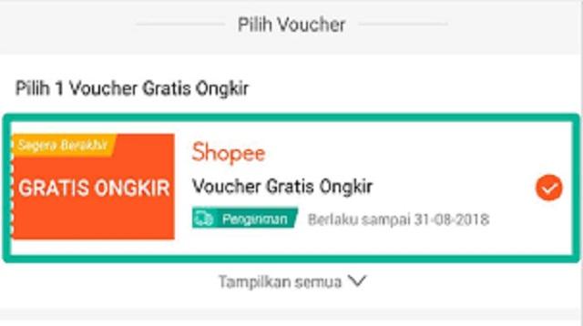 Cara Hack Gratis Ongkir Shopee