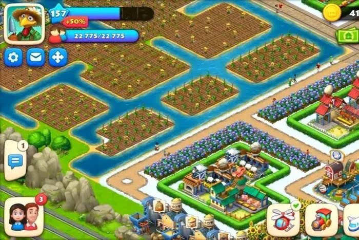 township - game simulasi membangun desa