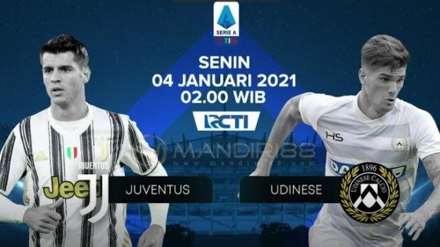 Prediksi Juventus Vs Udinese