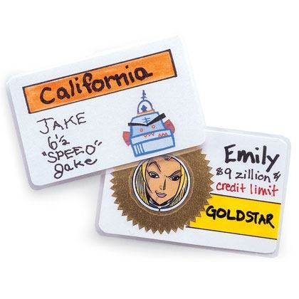 Crafts: Funny ID Cards