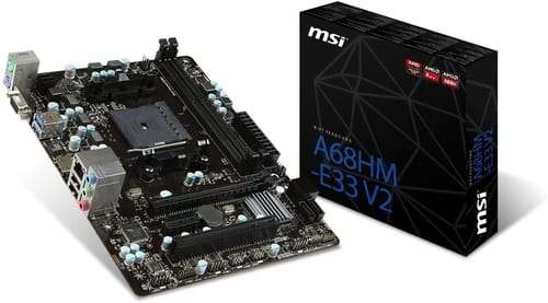 Review MSI A68HM-E33 V2 ATX Motherboard