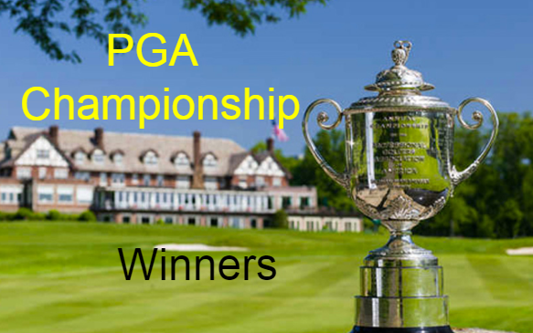 Golf , PGA, Championship, past,champions, Winners, by Year, list, 2017.