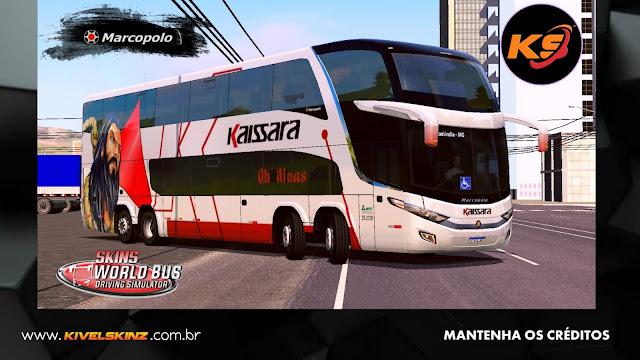PARADISO G7 1800 DD 8X2 - VIAÇÃO KAISSARA OH! MINAS