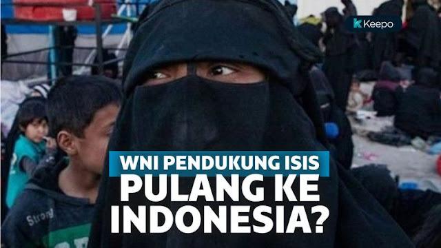 foto anggota negara islam yang ingin pulang ke indonesia