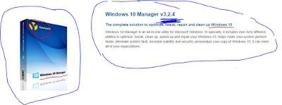 برنامج اصلاح مشاكل ويندوز 10 وحل جميع المشاكل Windows 10 Manager