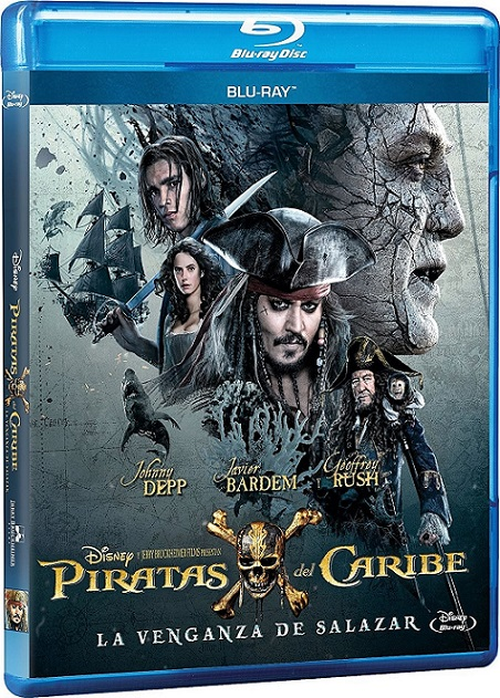 Pirates of the Caribbean: Dead Men Tell No Tales (Piratas del Caribe: La venganza de Salazar) (2017) 720p y 1080p BDRip mkv Dual Audio AC3 5.1 ch