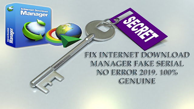 How to Fix IDM Fake Serial Number Error?