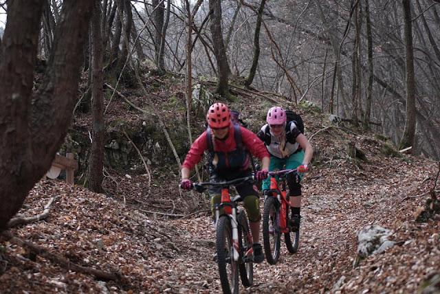 offizielle Mountainbike Downhillstrecke am Gardasee
