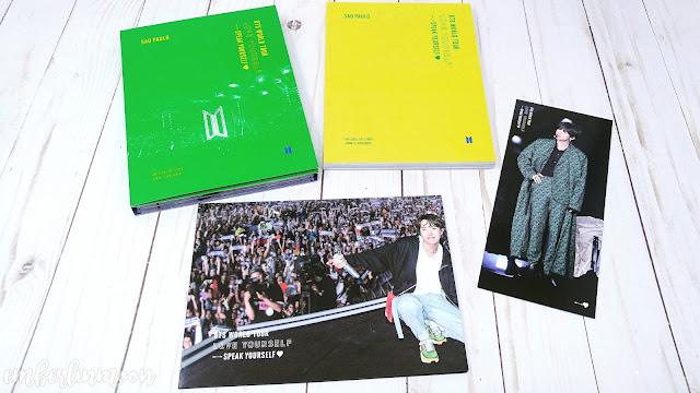 BTS Speak Yourself Sao Paulo Brazil DVD |