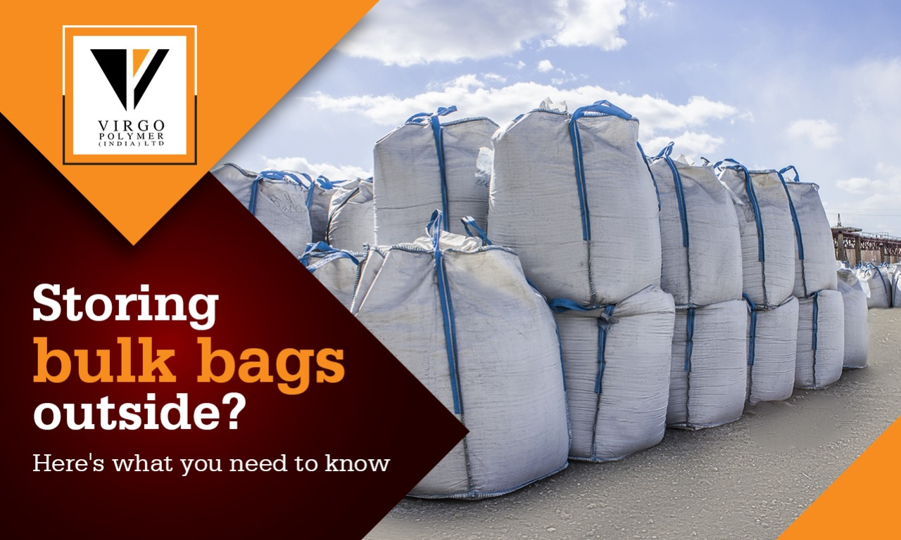 Storing Bulk Bags outside? Here's how to do it safely