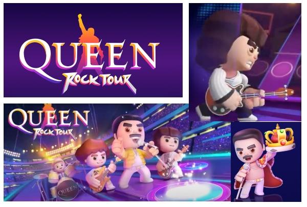 Queen Rock Tour: El Nuevo VideoJuego de Queen.