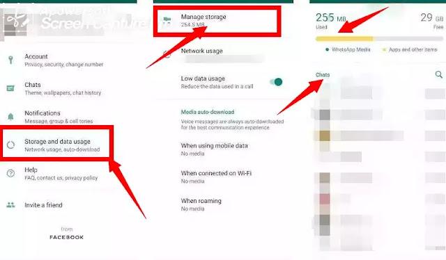 طريقة إستخدام ميزة تحرير مساحة تخزين إضافية الجديدة في واتساب