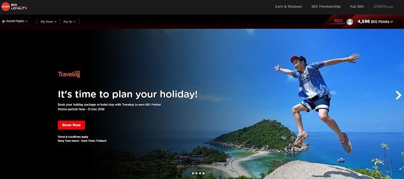 Macamana Nak Claim Big Point Air Asia?