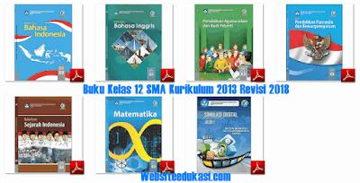 Buku Guru dan Siswa Kelas 12 SMA Kurikulum 2013 Revisi 2018