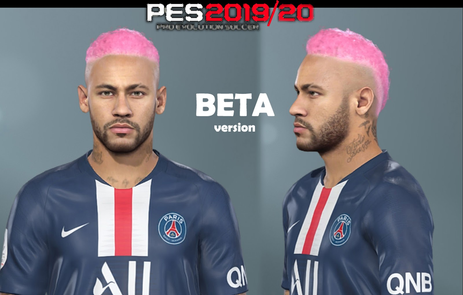 PES 2019 Faces Neymar Jr By Nanilincol44