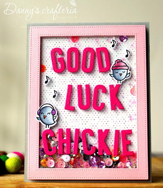 danny's crafteria again a farewell's card