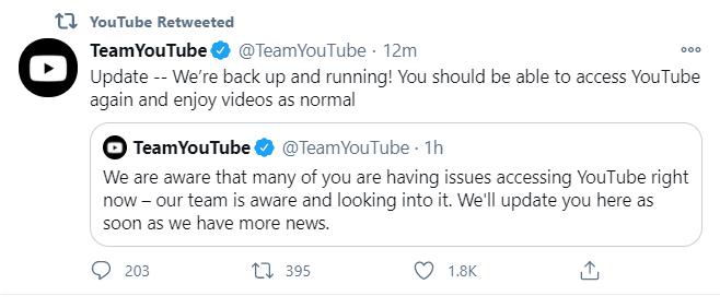 Twitter Youtube