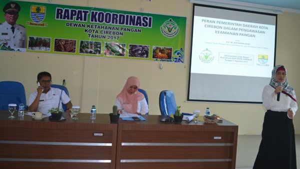 rapat koordinasi dewan pangan kota cirebon