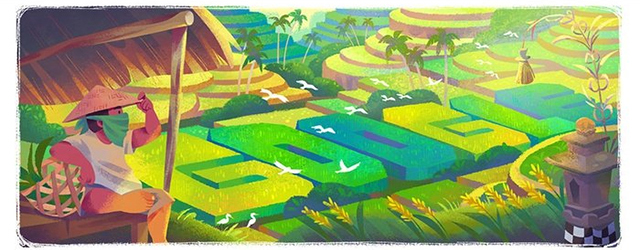 Google Doodle Subak