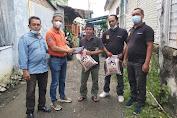 Orangtua Wartawan Meninggal Dunia, Ketua Pewarta Melayat untuk Berikan Santunan