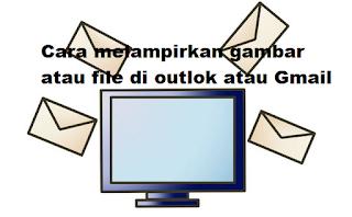 Cara Memasukkan Gambar atau file di Outlook atau Gmail