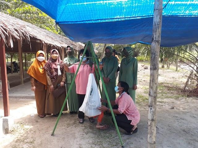 TMMD Kodim 0204/DS, Warga Desa Mabar Diberikan Pengetahuan Tentang Stunting
