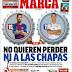 Hoy Clásico Madrid-Barça en el Camp Nou, no habrá pasillo | Portadas