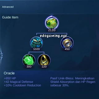 penjelasan lengkap item mobile legends item item oracle