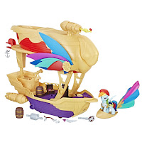 MLP The Movie Guardians of Harmony Swashbuckler Pirate Airship