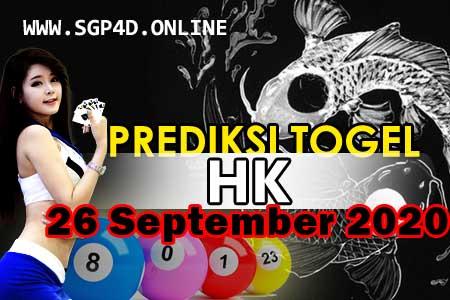 Prediksi Togel HK 26 September 2020