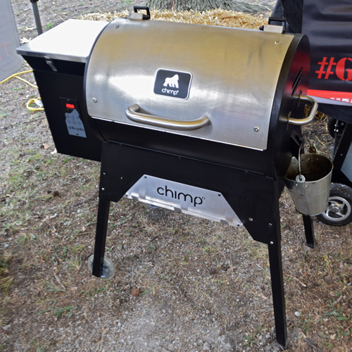Grilla Chimp portable pellet grill at the 2019 Praise The Lard BBQ Contest