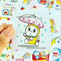 Sticker doremi dễ thương và anh trai doremon