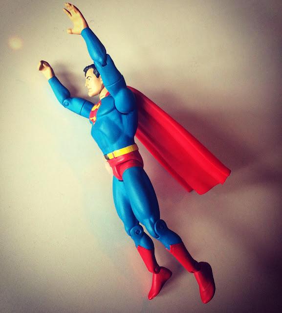 DC Direct Silver Age Superman figure