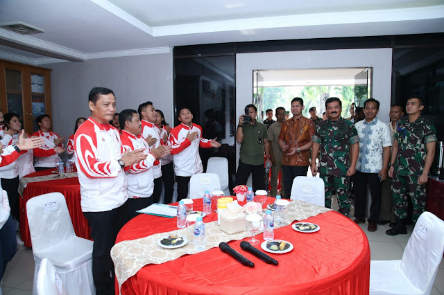 PB FORKI Pompa Semangat Juang Timnas Karate Indonesia SEA Games 2019