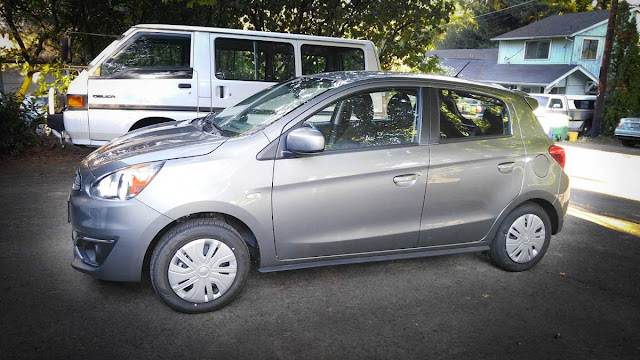We bought a 2017 Mitsubishi Mirage