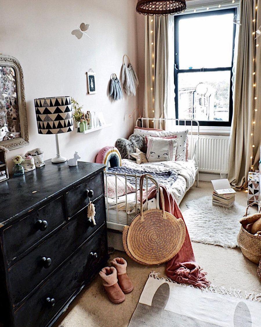 wystrój wnętrz, wnętrza, urządzanie domu, dekoracje wnętrz, aranżacja wnętrz, inspiracje wnętrz,interior design , dom i wnętrze, aranżacja mieszkania, modne wnętrza, boho, boho style, styl skandynawski, scandinavian style, styl eklektyczny, skandynawski pokój dziecka, pokój dziewczynki, kids room