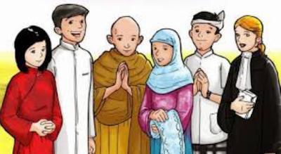 CONTOH PERILAKU TOLERAN TERHADAP KEBERAGAMAN AGAMA, SUKU, RAS DAN ANTARGOLONGAN YANG ADA DI INDONESIA