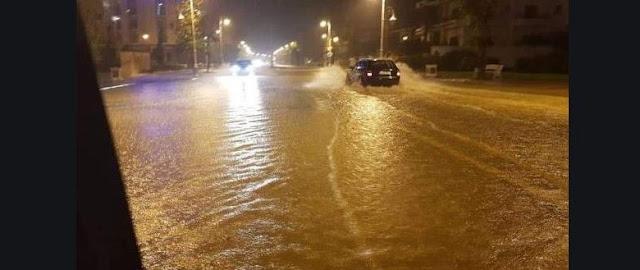 نشرة من المستوى الأحمر: أمطار رعدية ورياح قوية بأكادير إداوتنان و تارودانت ..