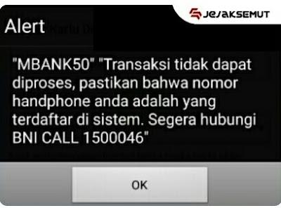 alert mbank 50