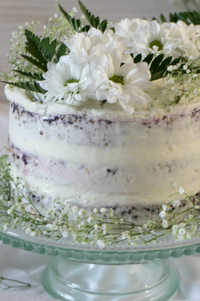 blueberry-lemon-naked-cake, tarta-de-arandanos-y-limon