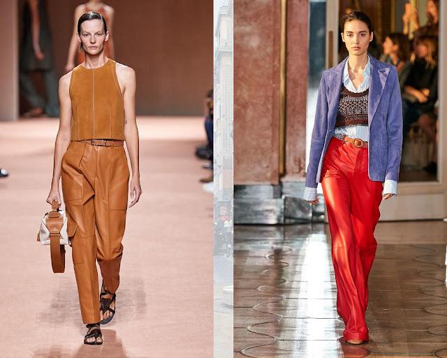Модные брюки весна-лето 2020 7-1