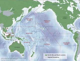 Karakteristik Samudra Pasifik, Atlantik, Hindia, dan Arktik Terlengkap