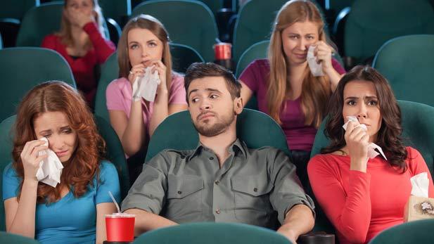 Menangis / Sedih saat menonton film