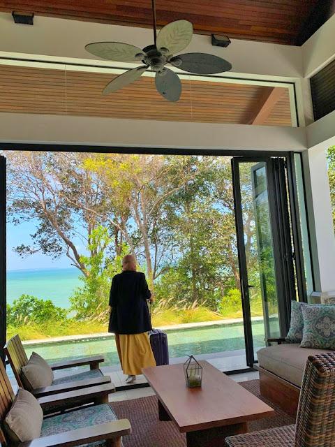 View dari Lobby Residence Bintan